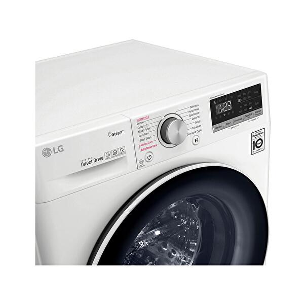 LG F4V5VGP0W.ABWPLTK A+++ 9 / 6 Yıkama Kurutmalı Çamaşır Makinesi Beyaz