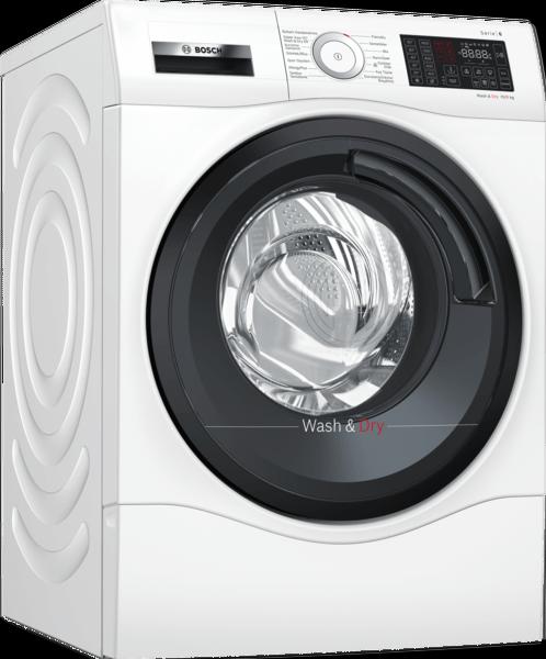 Bosch WDU28560TR 10 Kg Yıkama / 6 KG Kurutma A Enerji Sınıfı Tam Kurutmalı Beyaz Çamaşır Makinesi
