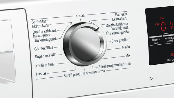 Bosch WTW85420TR 9 Kg A++ Enerji Sınıfı Isı Pompalı Beyaz Kurutma Makinesi