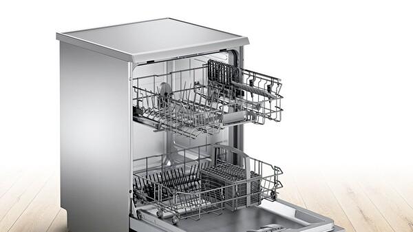 Bosch SMS44DI00T A+ Enerji Sınıfı 4 Programlı Inox Bulaşık Makinesi
