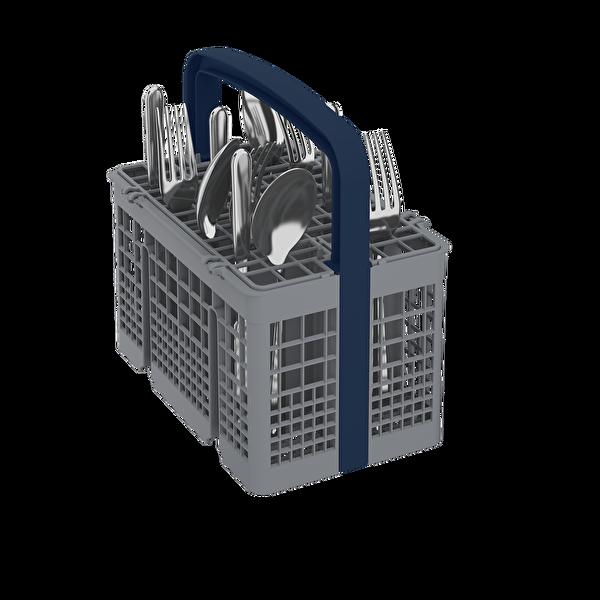Grundig Gdf 5303 S 5 Programlı Bulaşık Makinesi Gümüş