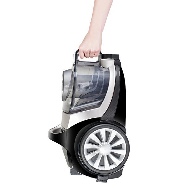 Arnica Tesla Premium ET 14320 Toz Torbasız Sessiz Gümüş/Siyah Elektrikli Süpürge