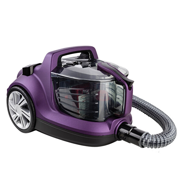 Fakir Veyron Turbo XL Toz Torbasız Violet Elektrikli Süpürge
