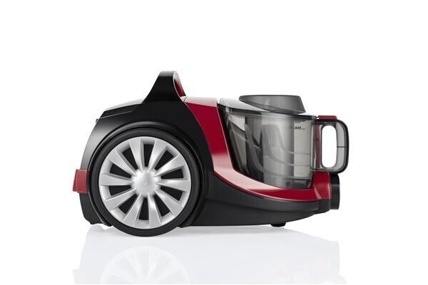 Arnica Tesla Siklon 750W Toz Torbasız Elektrikli Süpürge (Kırmızı)