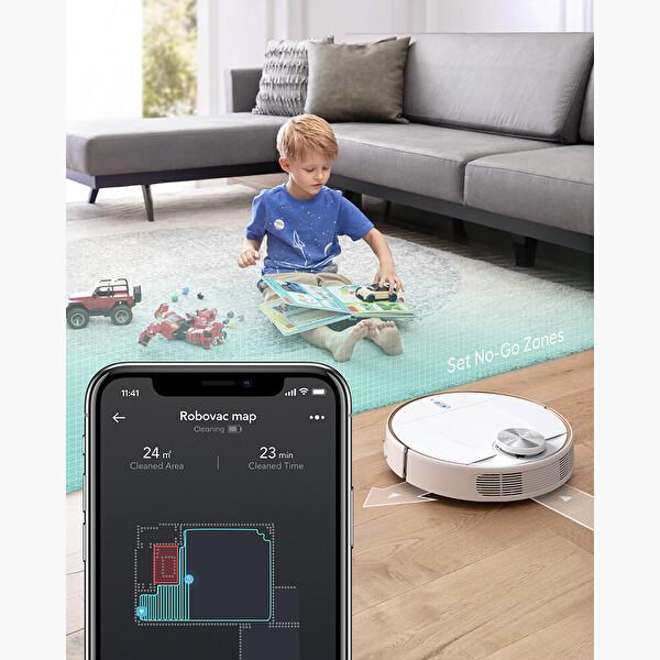 Anker Eufy Robovac L70 Hybrid-WiFi Akıllı Robot Süpürge/Mop