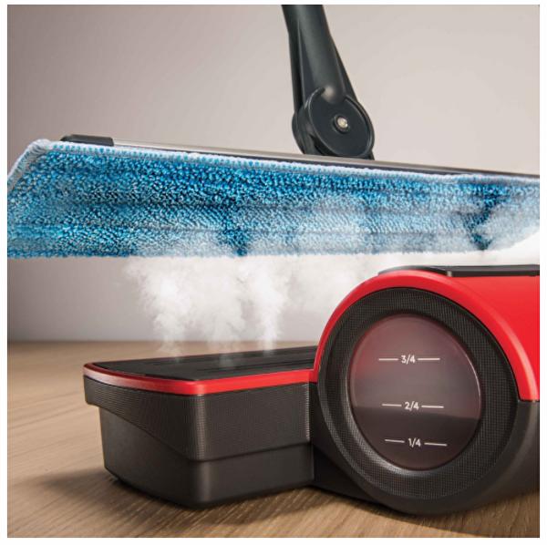 Polti Moppy Red Extra Dust Kablosuz Buharlı Temizleyici Paspas