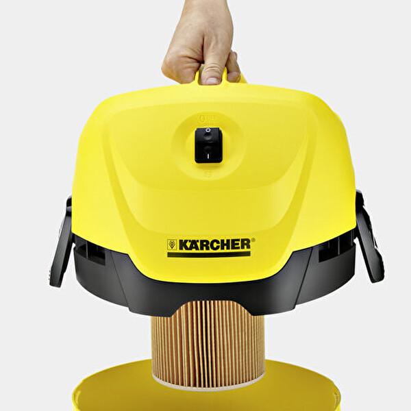 Karcher Wd 3 Eu I Plastik Tanklı Islak Kuru Vakum Makinesi
