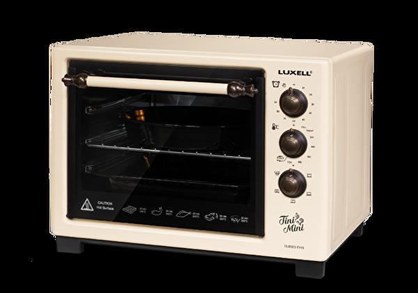 Luxell LX-8589 Tini Mini Rüstik Mini Fırın
