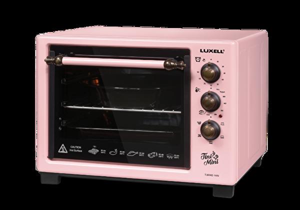 Luxell LX-8589 Tini Mini Pembe Mini Fırın