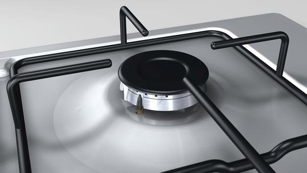 Bosch PBH0C5B80O Doğalgazlı 4 Gözlü Inox Set Üstü Ocak