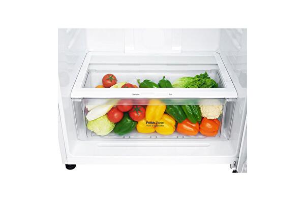 LG GN-C702HQCU.ASWPLTK A++ 547 Lt Beyaz Çift Kapılı No Frost Buzdolabı