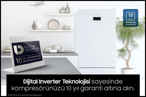 Samsung Rb50rs334sa Inox No Frost Buzdolabı