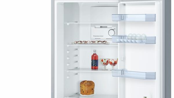 Bosch KGN36NL30N 329 Lt A++ Alttan Donduruculu No-Frost İnox Soğutucu Buzdolabı
