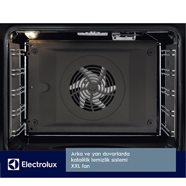 Electrolux Kodec70x Ankastre Fırın Siyah