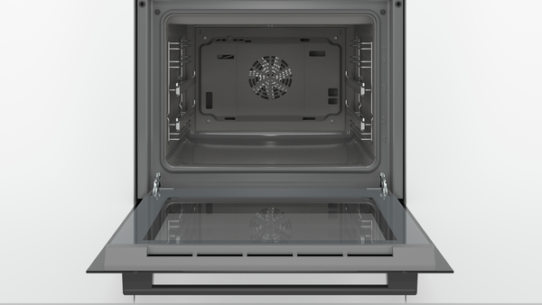 Bosch HBJ558YB0T 8 Programlı A 66 Lt LCD Dokunmatik Ekran Ecoclean Direct Siyah Ankastre Fırın