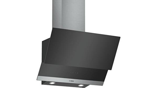 Bosch DWK065G60T 60 Cm  210W 540m3/h 56 dB Ankastre Duvar Tipi Siyah Davlumbaz