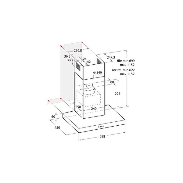 HOTPOINT ARİSTON F093967 HHBS 6.5 F AM X DAVLUMBAZ