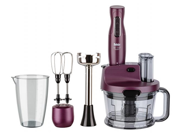 Fakir Mr.Chef Quadro 1000W Mor Blender Seti