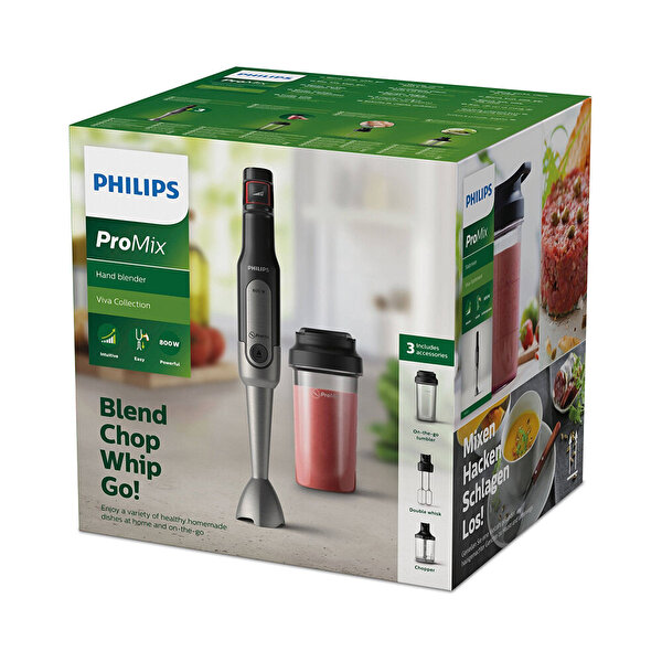 Philips HR2653/90 Promix El Blender Seti