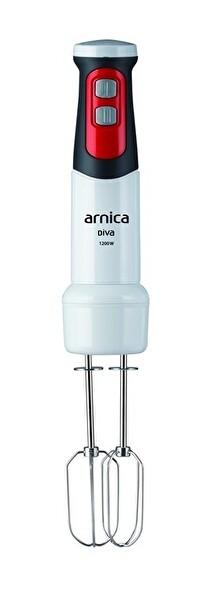 Arnica GH21594 Diva 1200 W Çubuk Blender (Beyaz)