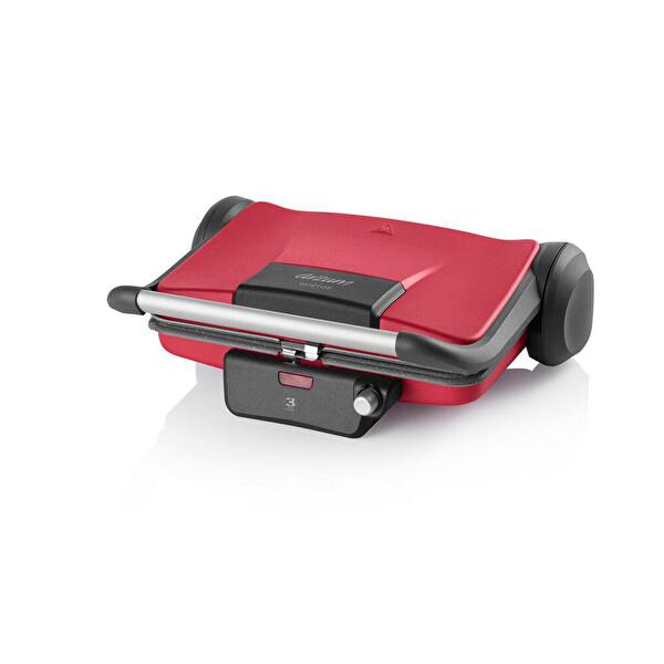Arzum AR2031 Gustos Kırmızı Izgara ve Tost Makinesi