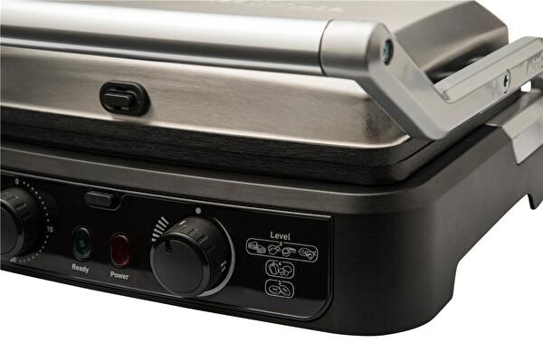 Tefal GC470 Grill Gourmet Minute 2000 Watt Paslanmaz Çelik Inoks Tost Makinesi