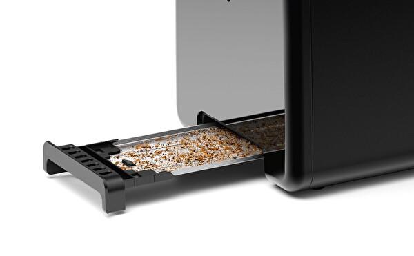 Bosch TAT3P423 DesignLine Ekmek Kızartma Makinesi Siyah