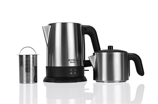 Arnica Demli IH33150 İnox Çay Makinesi