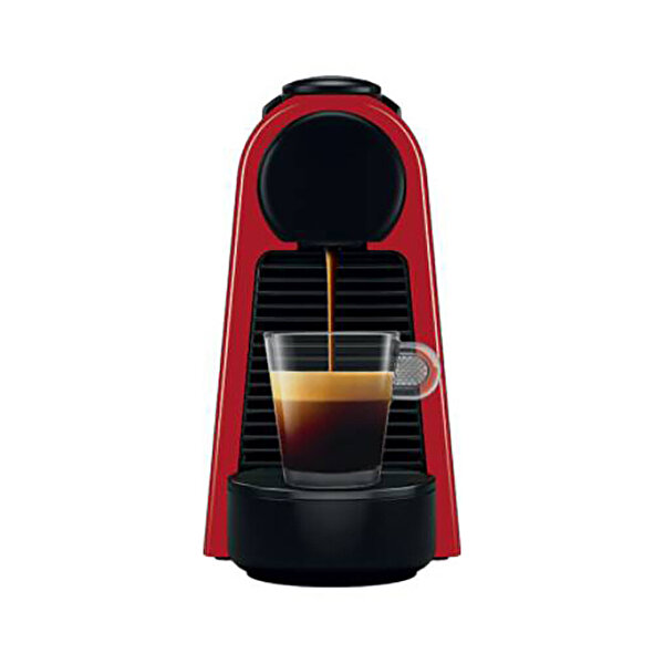Nespresso Essenza Mini D 35 Bundle Kırmızı Kahve Makinesi