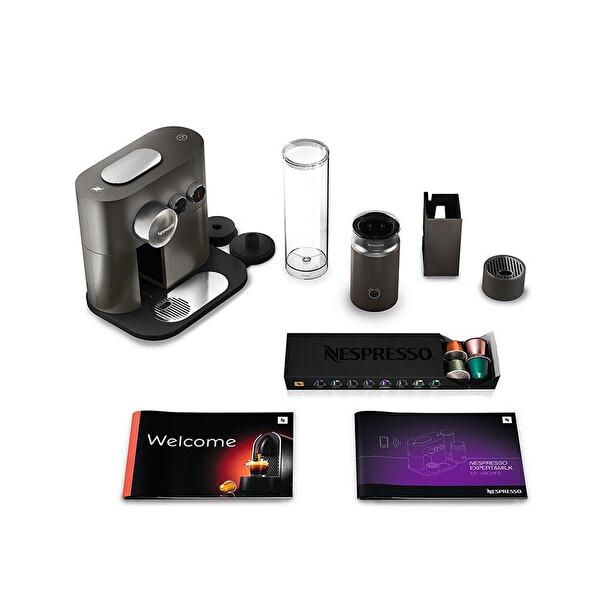 Nespresso D85 Expert Milk Anthracite Gri Kahve Makinesi