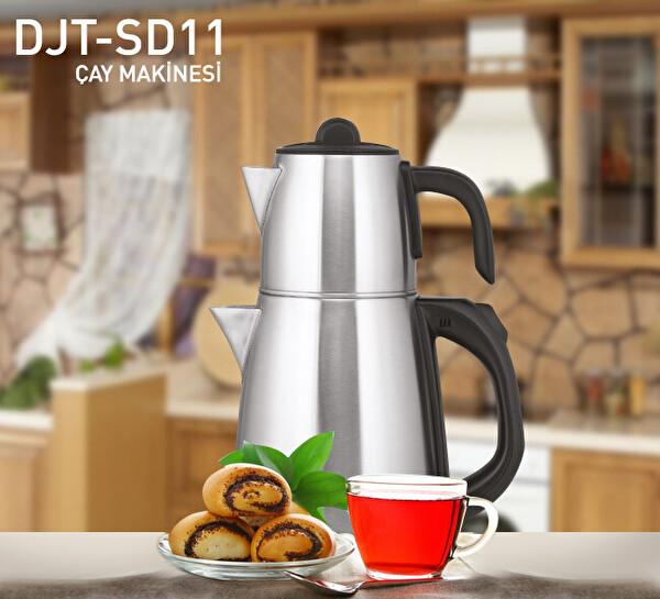 Dijitsu Çelik Çay Makinesi