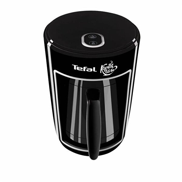 Tefal CM820 Köpüklüm Otomatik Közde Pişirme Özellikli Siyah Türk Kahvesi Makinesi