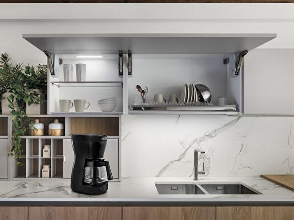 Delonghi ICM16.210.BK Filtre Kahve Makinesi