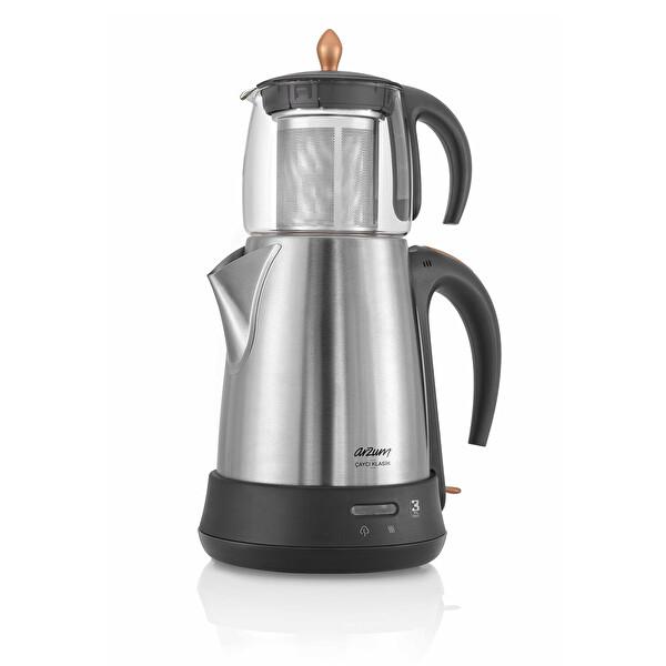 Arzum AR3003-CD Çaycı Klasik Cam Demlikli Çay Makinesi