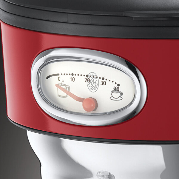 Russell Hobbs 21700-56 Retro Cam Karaflı Filtre Kahve Makinesi - Kırmızı