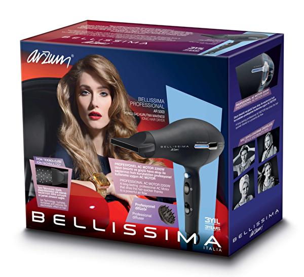 Arzum AR5003 Bellissima Profesyonel İyonlu Saç Kurutma Makinesi (2200w)