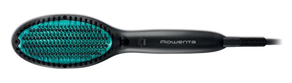 Rowenta CF5820F0 CF5820 Power Straight Elektrikli Siyah - Yeşil Saç Fırçası ve Düzleştirici Tarak