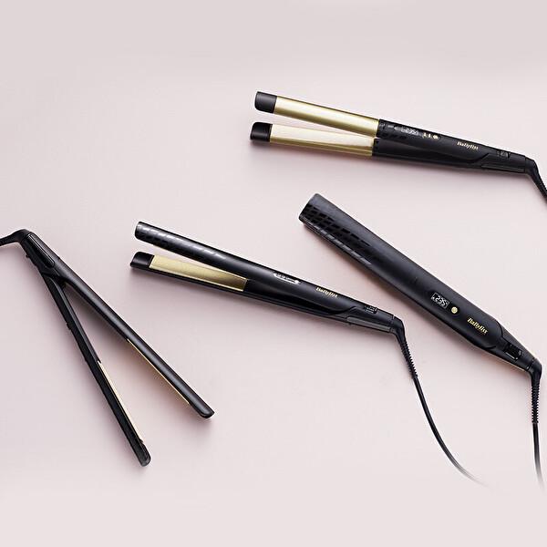 Babyliss ST430E Gold Seramik 235°C Lcd Geniş Plakalı Saç Düzleştirici