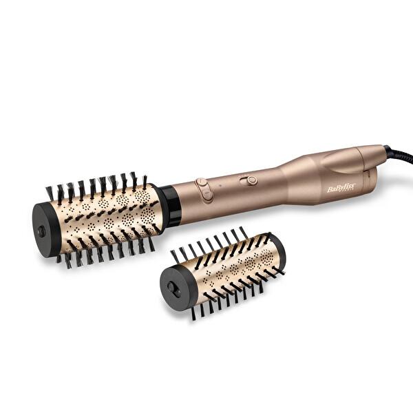Babyliss AS952E Döner Fırçalı Hava Üflemeli Saç Şekillendirici (2 Aksesuar)