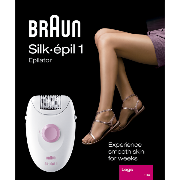 Braun Silk Epil 1170 Epilatör