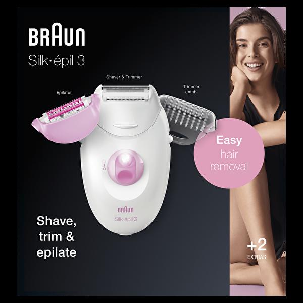 Braun Silk Epil 3 3270 Epilatör