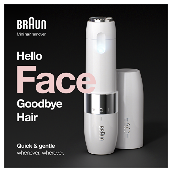 Braun Face Mini Tüy Alma Makinesi FS1000 Smartlight