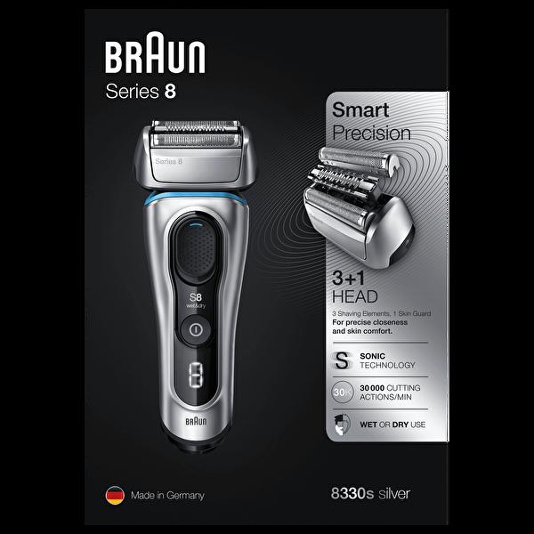 Braun 8 Serisi 8330s Tıraş Makinesi
