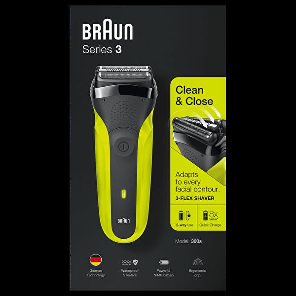 Braun 3 Serisi 300s Tıraş Makinesi