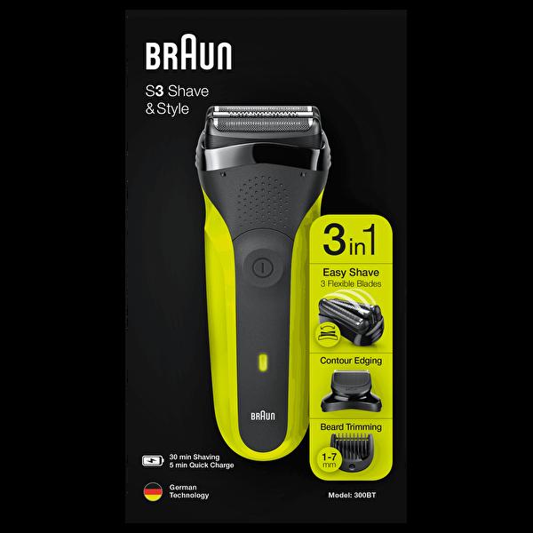 Braun 3 Serisi 300BT Tıraş Makinesi