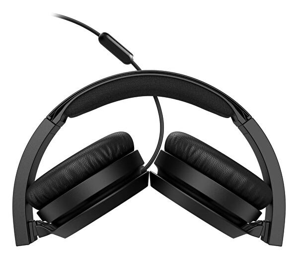 Phılıps TAH4105BK/00 Kulak Üstü Mikrofonlu Kablolu Kulaklık Siyah