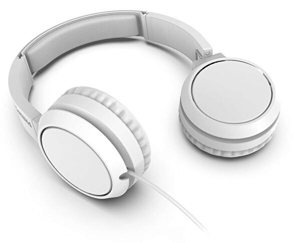 Phılıps TAH4105WT/00 Kulak Üstü Mikrofonlu Kablolu Kulaklık Beyaz