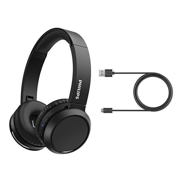 Phılıps TAH4205BK/00 Kulak Üstü Mikrofonlu Kablosuz Kulaklık Siyah