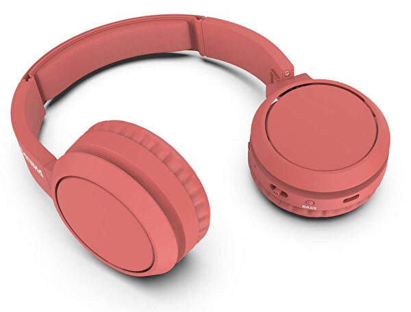 Phılıps TAH4205RD/00 Kulak Üstü Mikrofonlu Kablosuz Kulaklık Kırmızı