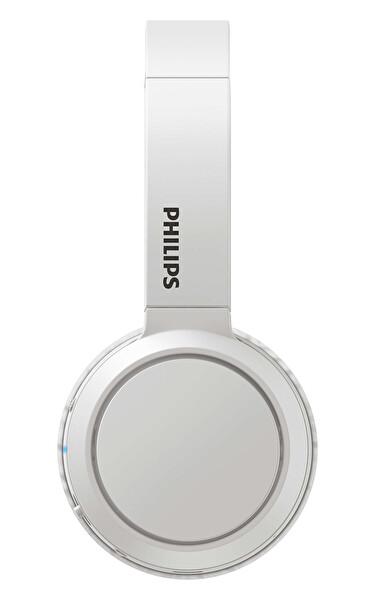 Phılıps TAH4205WT/00 Kulak Üstü Mikrofonlu Kablosuz Kulaklık Beyaz